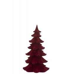 Sapin de Noël bordeau (S)