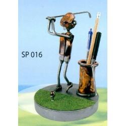 Porte-stylo Golfeur