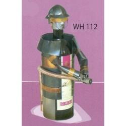Porte-bouteille Pompier