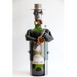 Porte-bouteille Saxophoniste
