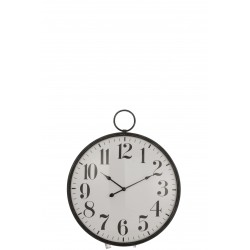 Horloge boule verre