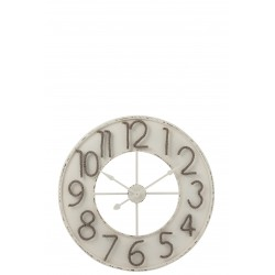 Horloge chiffres corde (L)
