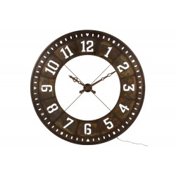 Horloge chiffres arabes
