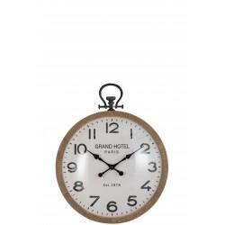 Horloge boule en verre (S)