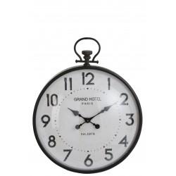 Horloge boule en verre L