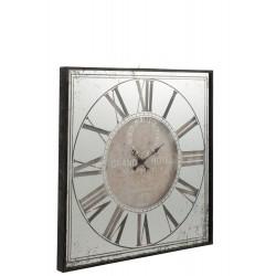 Horloge hôtel carrée