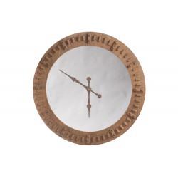Horloge avec miroir
