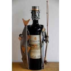 Porte-bouteille Pêcheur